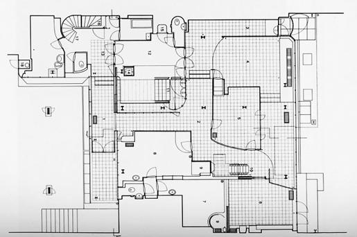 pierre chareau la maison de verre in detail metalocus. Black Bedroom Furniture Sets. Home Design Ideas
