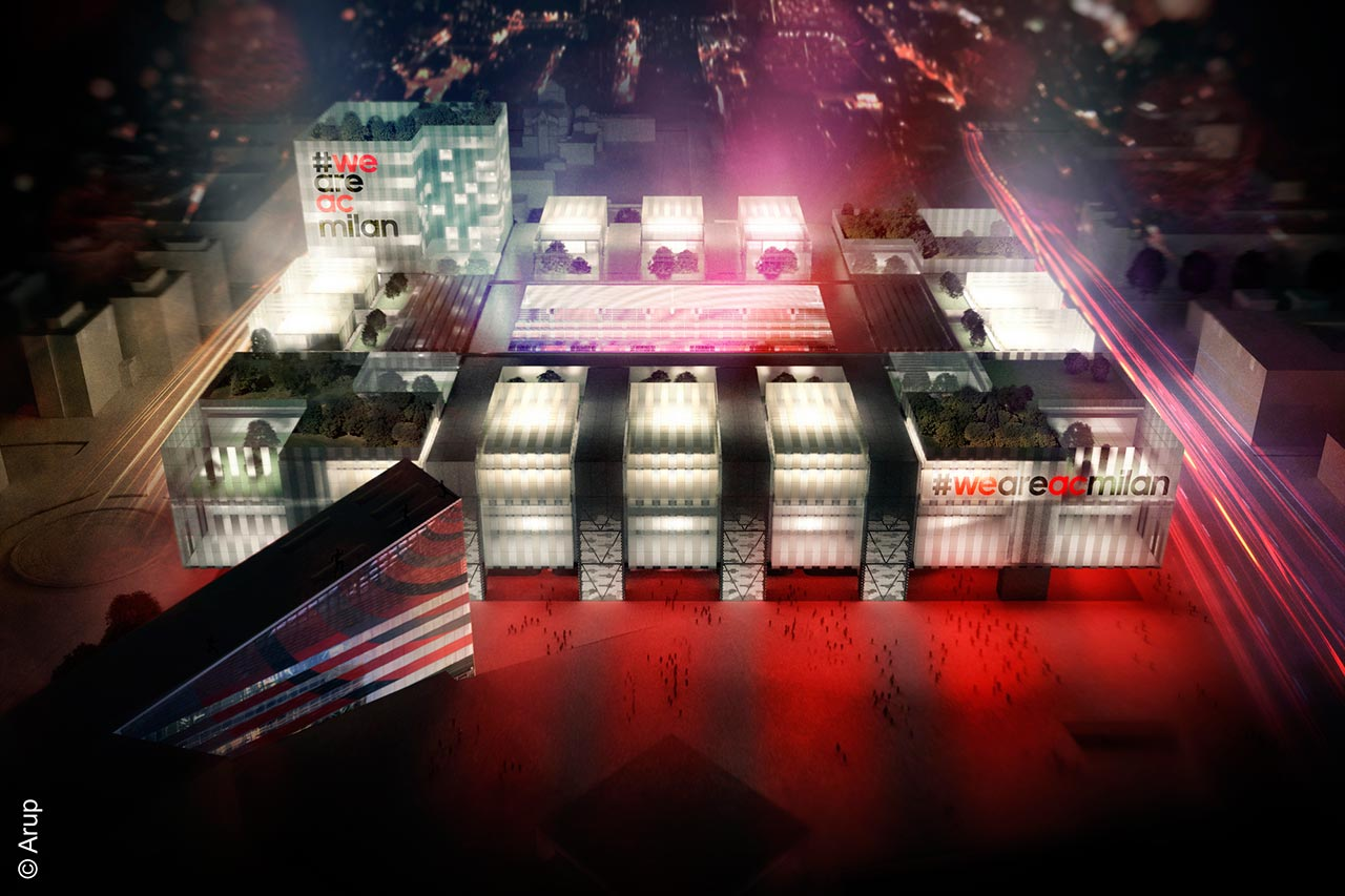 A C Milan Unveils Its New Stadium Designed By Arup