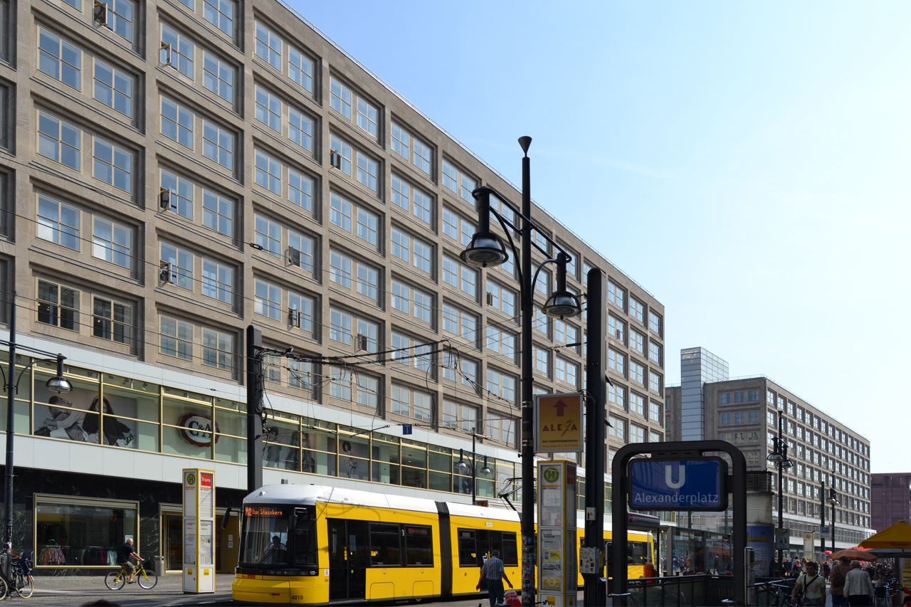 Berolinahaus At Alexanderplatz By Peter Behrens Metalocus