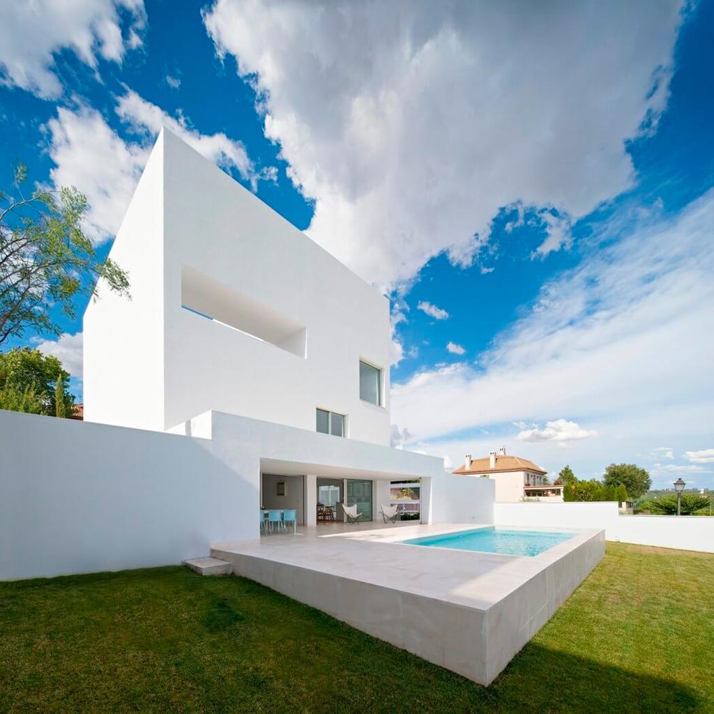 Constant white cala house by alberto campo baeza metalocus - Casa guerrero campo baeza ...