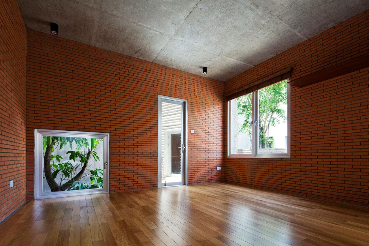 Casa para los rboles por vo trong nghia arquitectos - Ladrillo visto interior ...