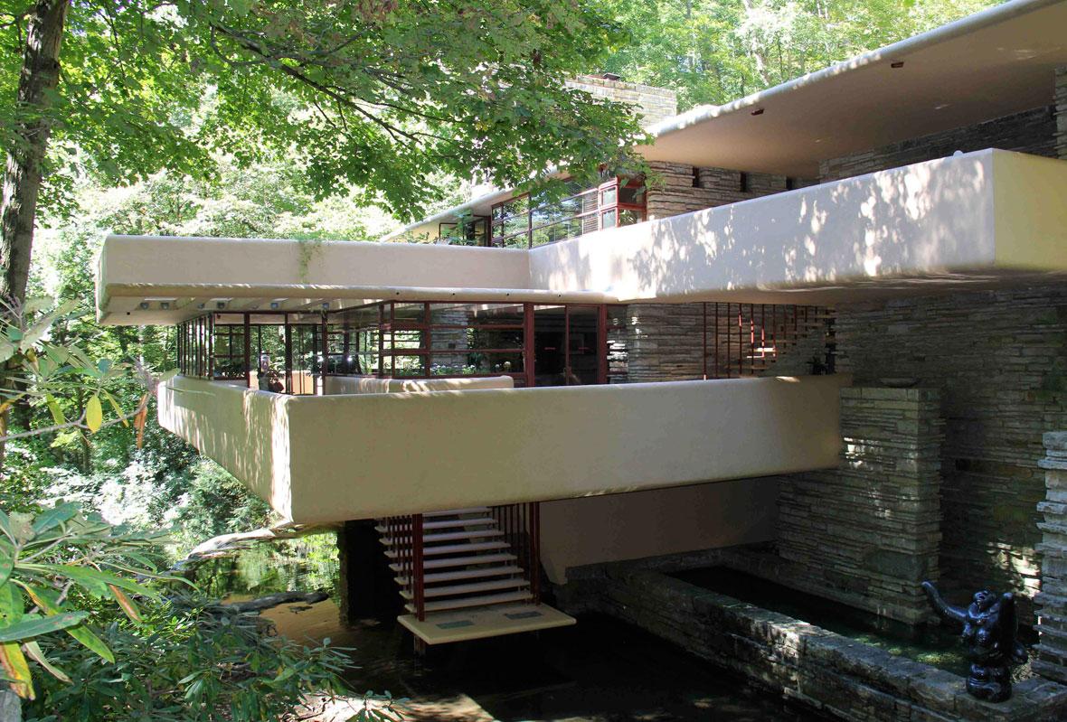 80 A 241 Os De La Casa De La Cascada De Frank Lloyd Wright