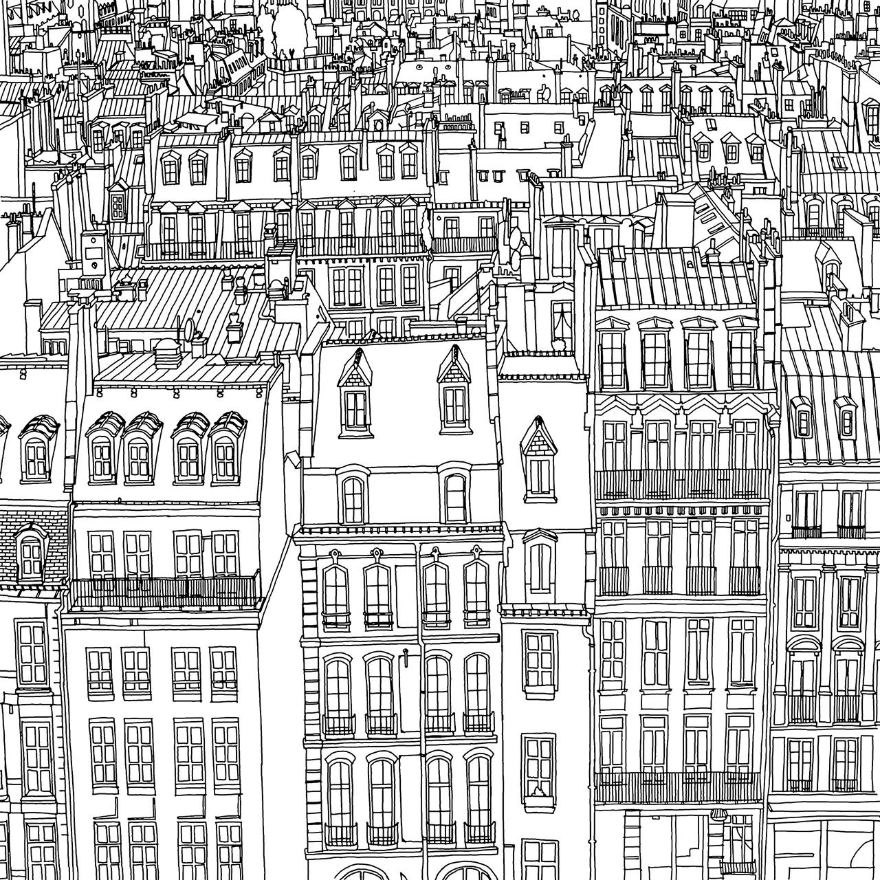 Fantastic Cities Ciudades Fantasticas Por Steve McDonald