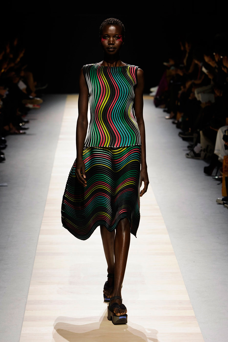 Clothing By Baking It In An Oven By Issey Miyake