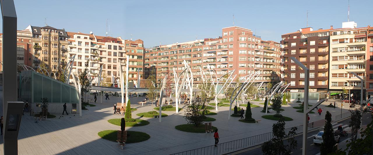 Indautxu square in bilbao by jaam sociedad de arquitectura - Arquitectos en bilbao ...