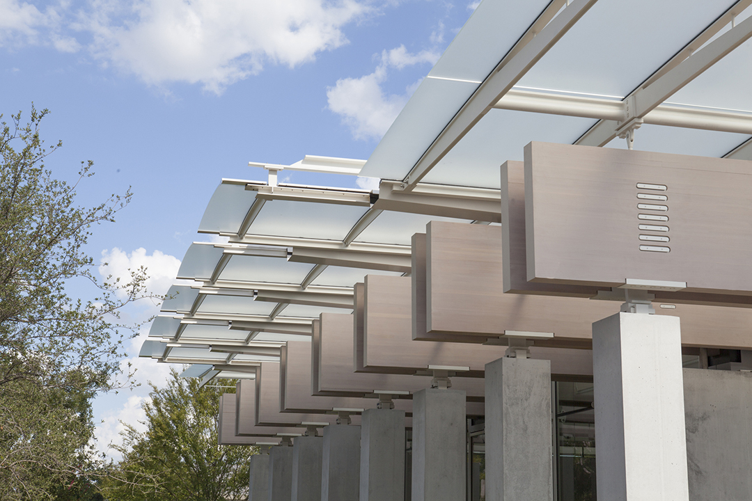 Pavilion By Renzo Piano In The Kimbell Art Museum Metalocus