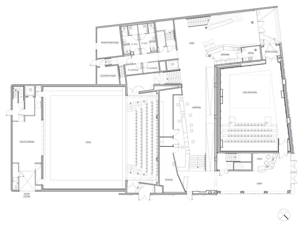 le palace theatre 2 by manuelle gautrand architecture