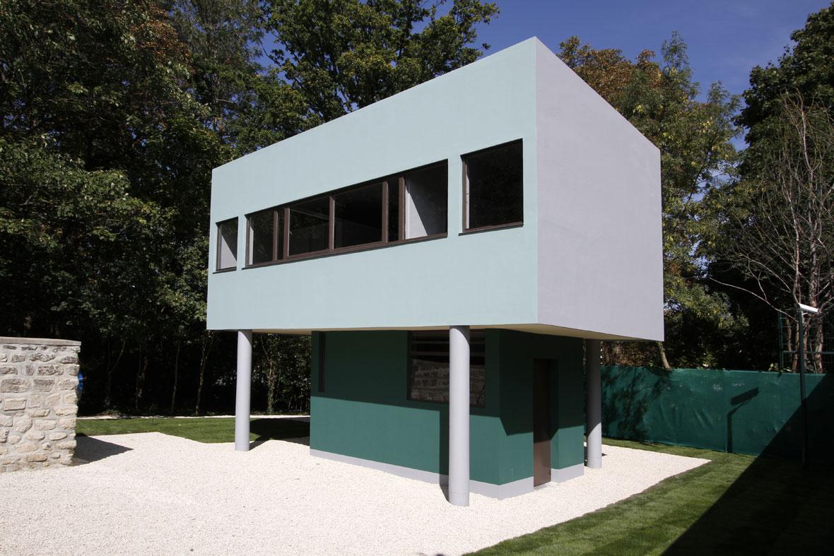 Abierta al p blico la casa del jardinero de villa savoye - Casas de le corbusier ...