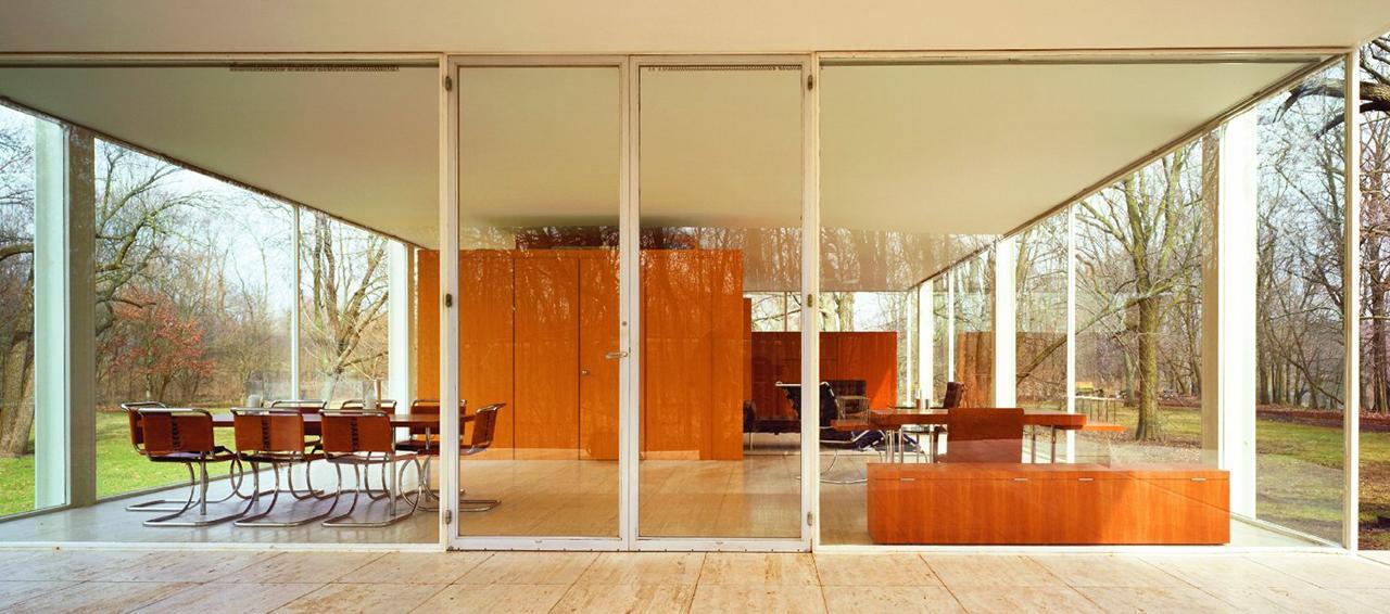 Mies revisited metalocus for Casa minimalista de mies van der rohe
