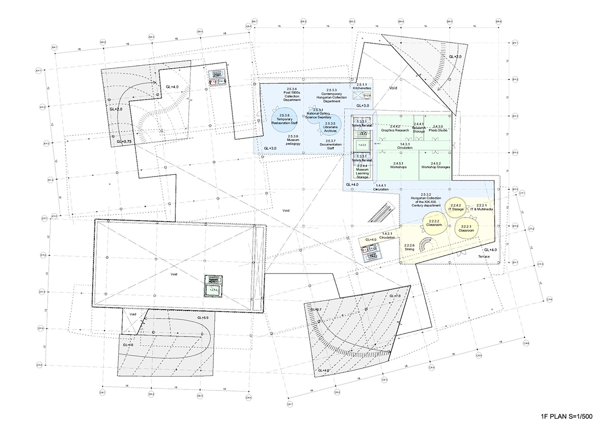 gallery architecture plan - photo #23