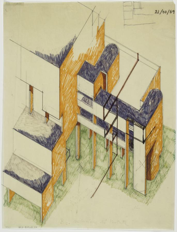 The italian tendenza in the centre pompidou metalocus for Art minimal pompidou