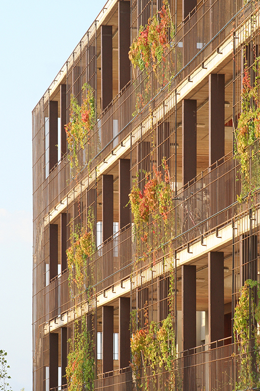 80 social housing in salou by toni giron s metalocus for 80 s apartment design