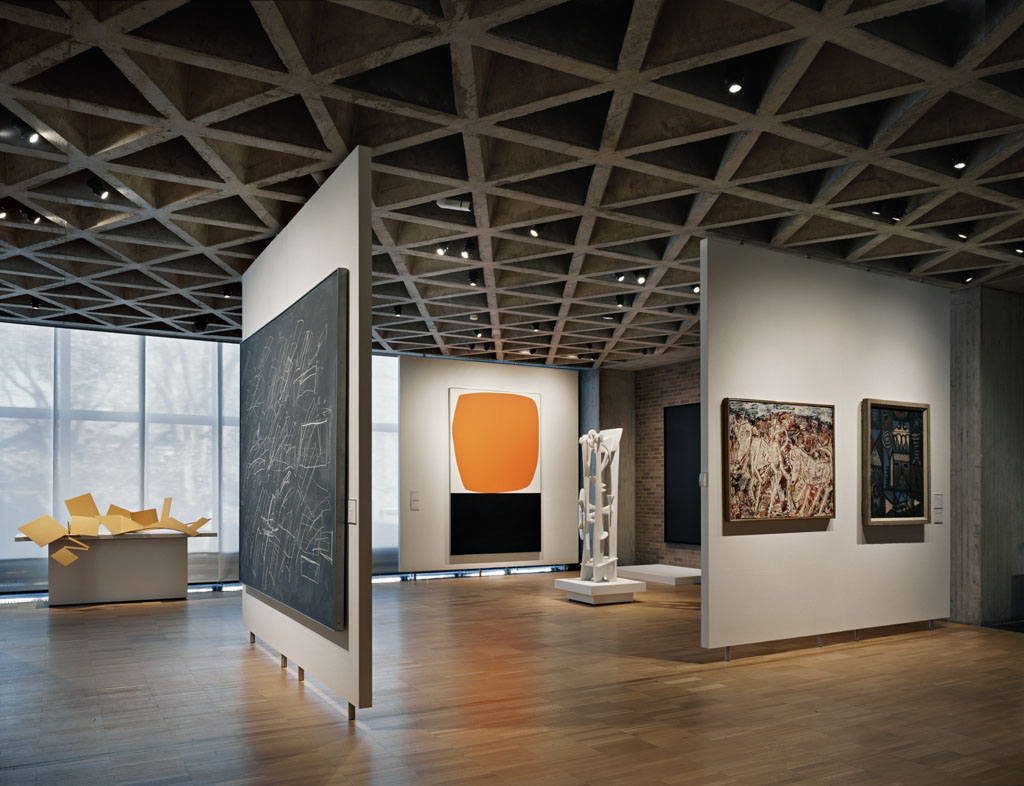 Completing the yale university art gallery expansion Art gallery interior design