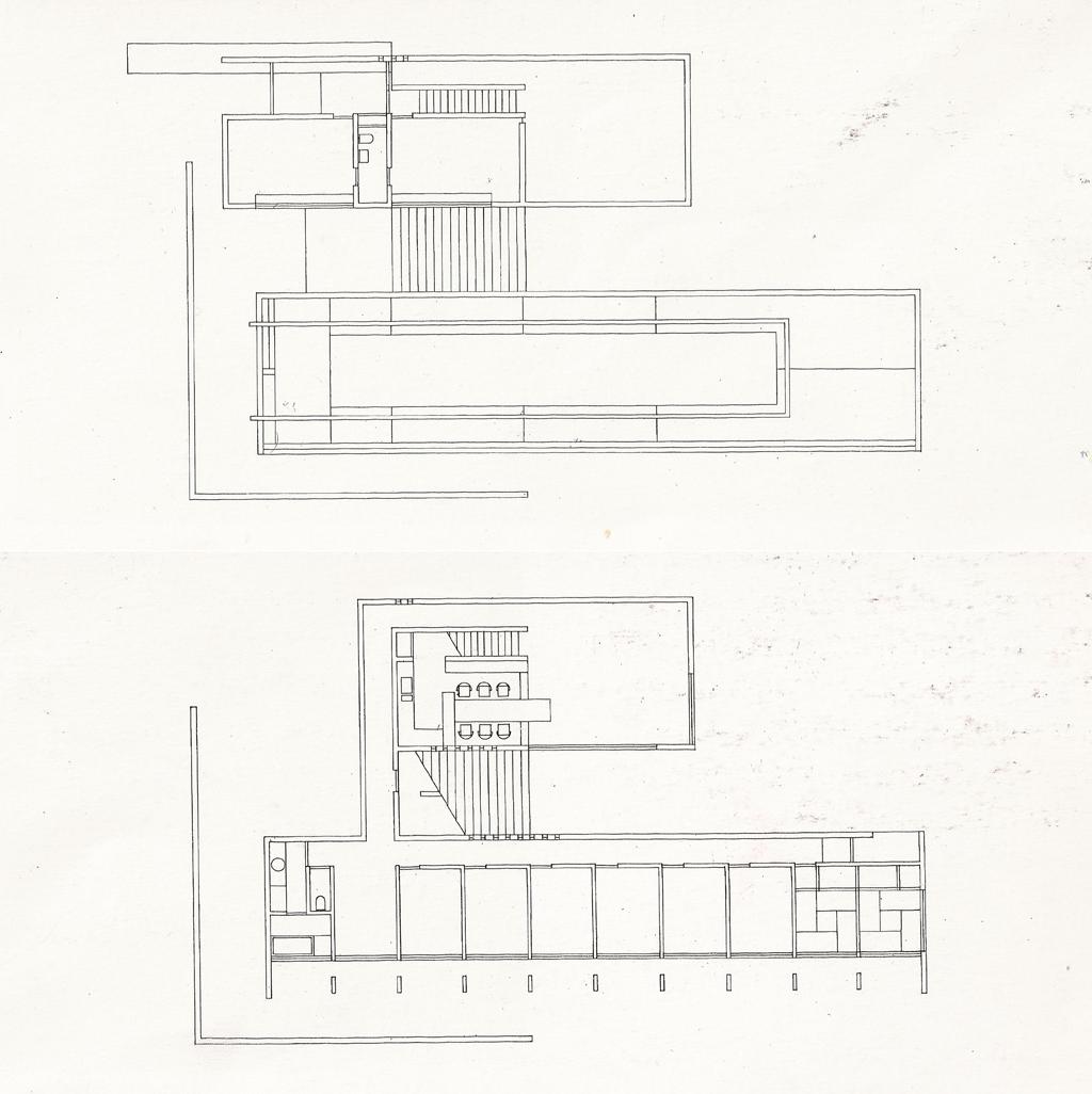 1300 Square Foot House Plans Koshino House Floor Plans House Design Plans