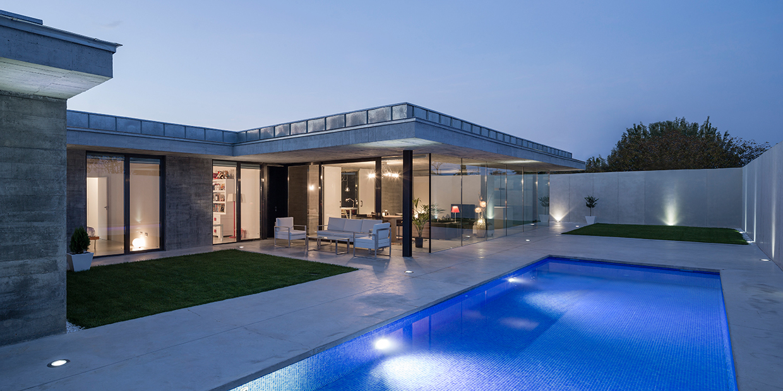 Casa porche in morales del vino metalocus - Casas con porche ...