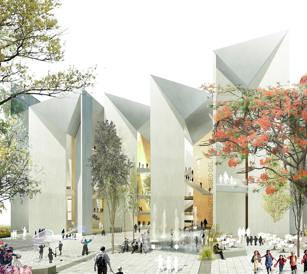 Mx si and sprb win the competition for papalote museo del Architecture si