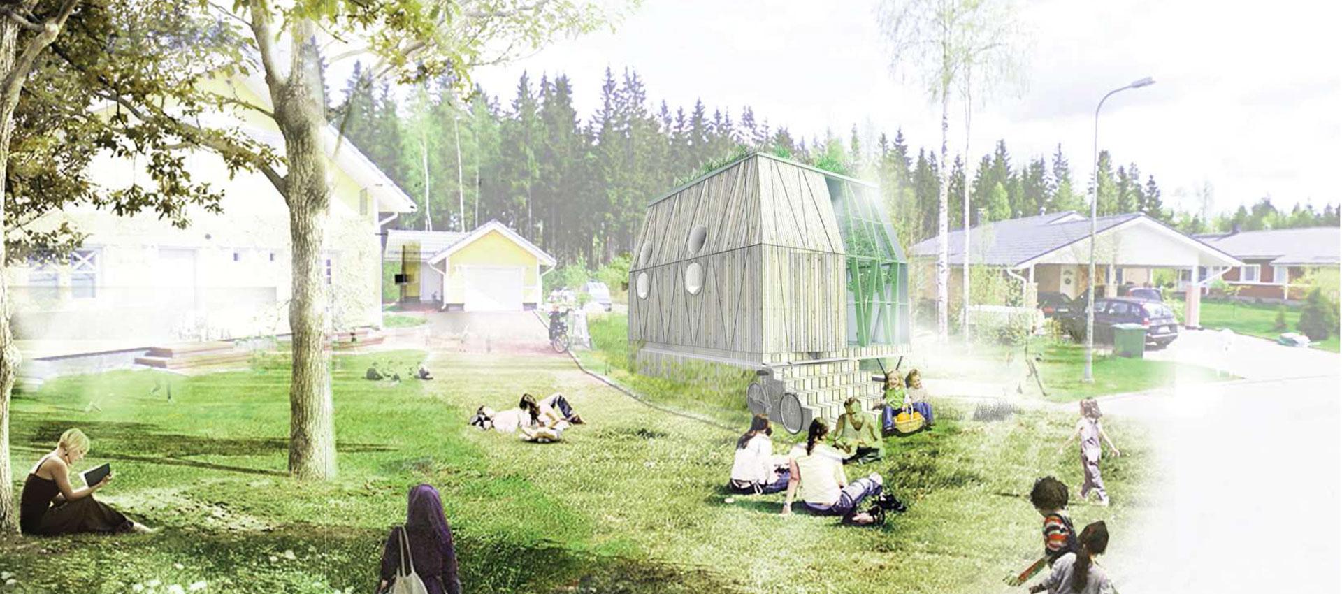 in my backyard housing solutions for asylum seekers metalocus