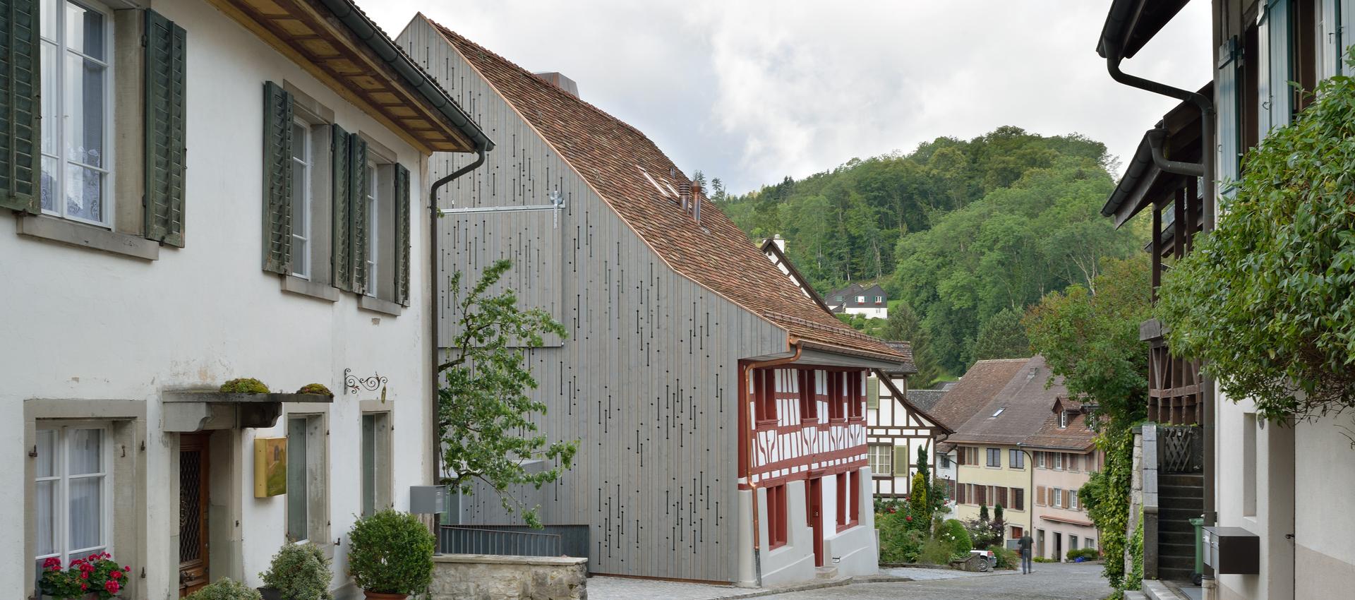Rehabilitaci n de la casa lendenmann por l3p architekten metalocus - Rehabilitacion de casas ...
