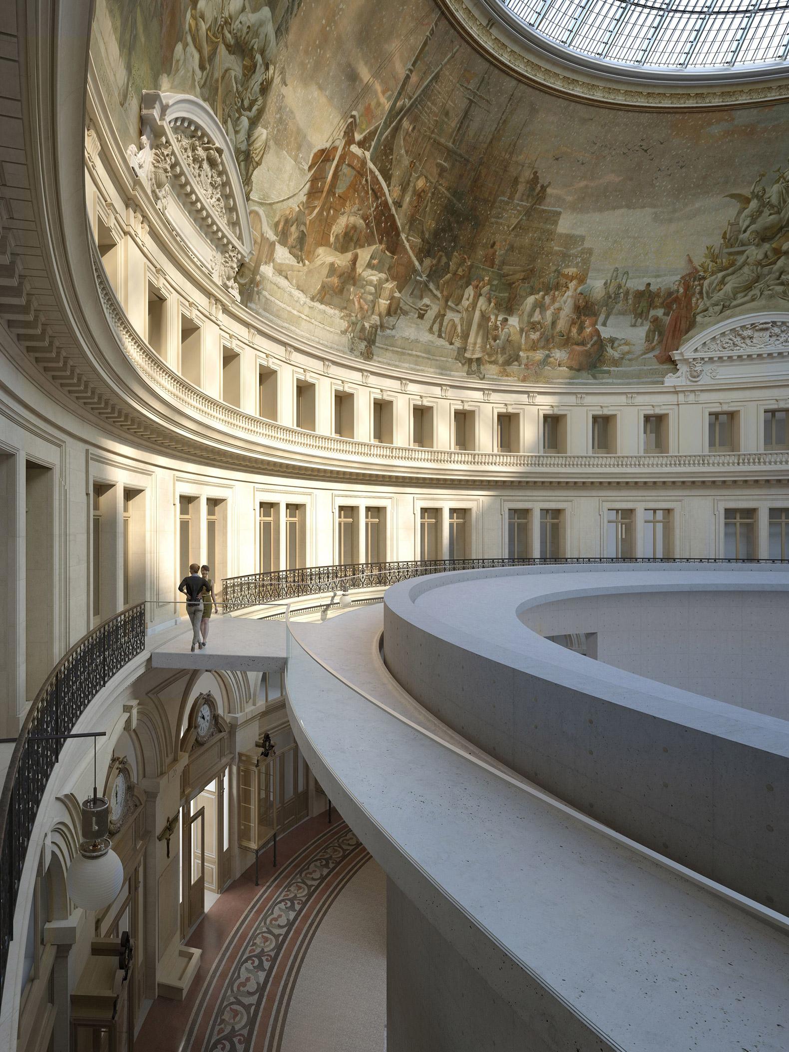 Tadao ando to design a museum inside a former paris stock for Architecture a paris
