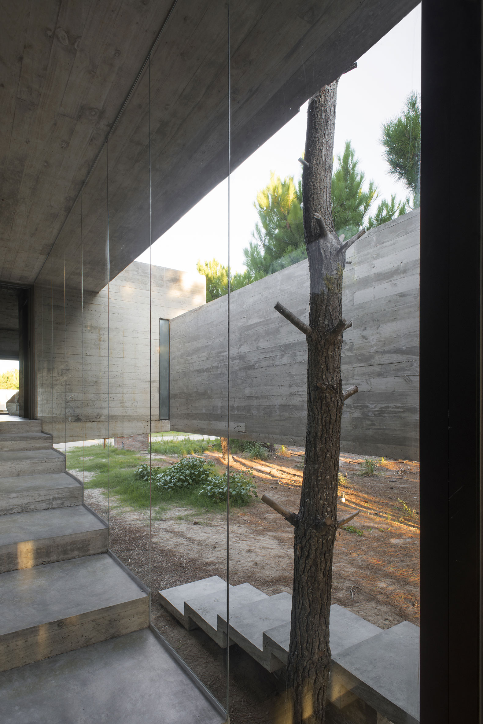 A holiday home house s j by luciano kruk arquitectos metalocus - Casa luciano madrid ...