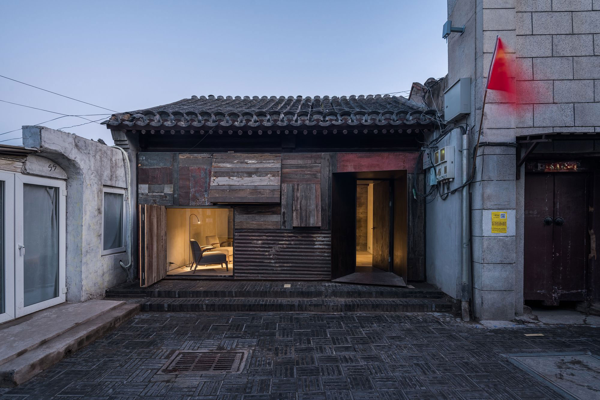 Micro Hutong By Zao Standardarchitecture A New Remodeling