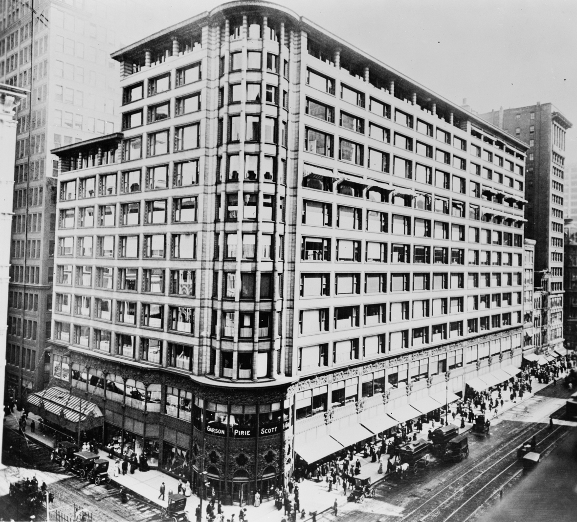 The Madison Club >> Louis Sullivan y la Escuela de Chicago: Los Almacenes Carson | METALOCUS