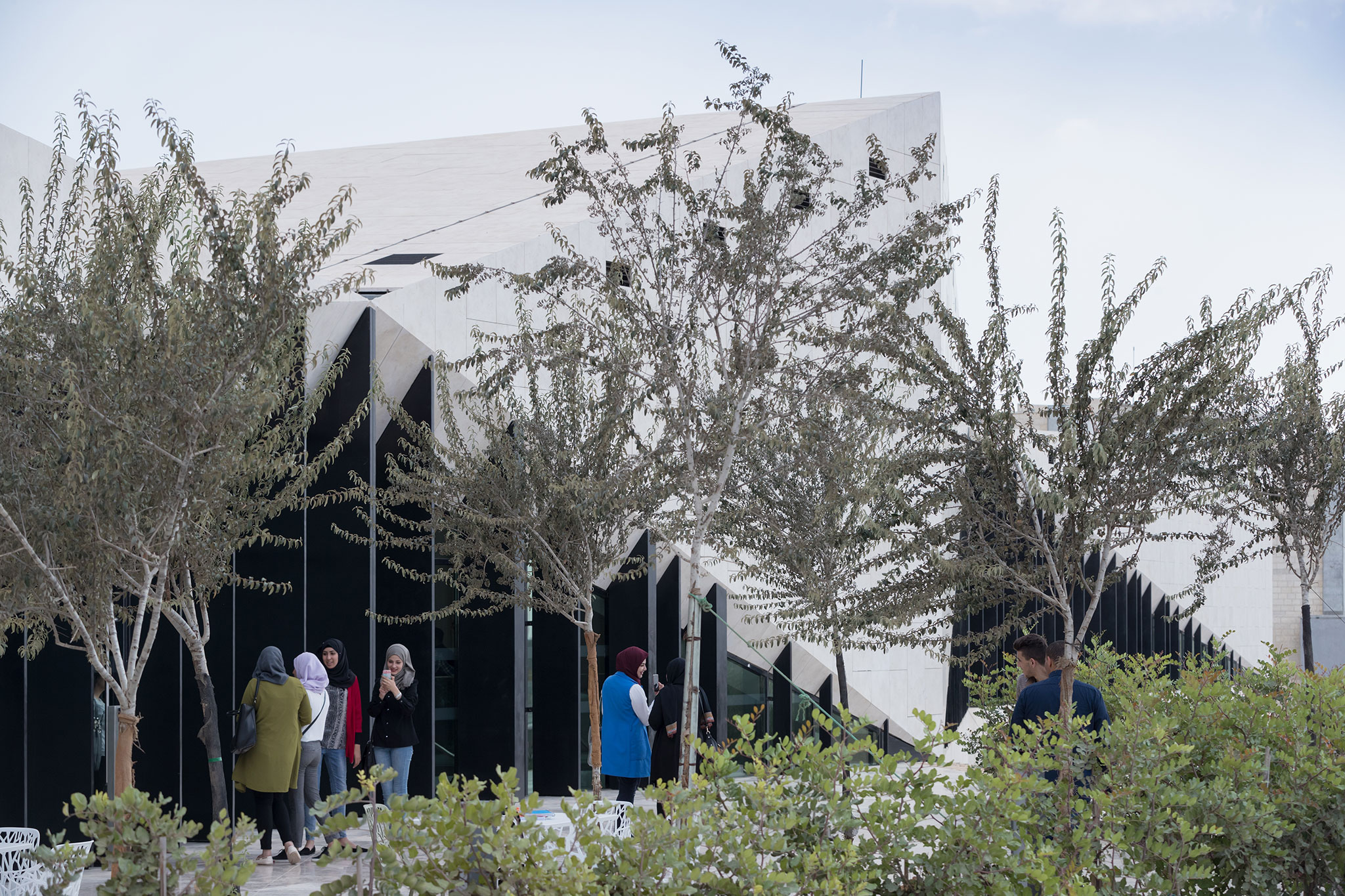 Folds In The Hill The Palestinian Museum By Heneghan Peng