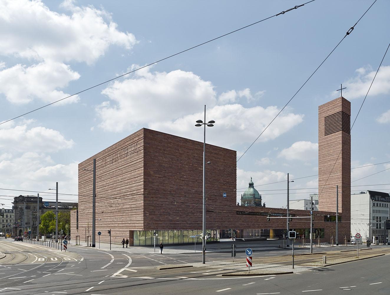 st trinitatis catholic parish church by schulz und schulz architekten metalocus. Black Bedroom Furniture Sets. Home Design Ideas