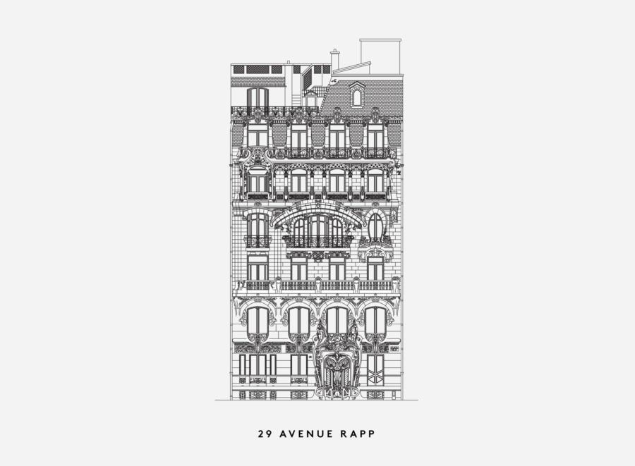 Paris Haussmann Modele De Ville Lan Jallon