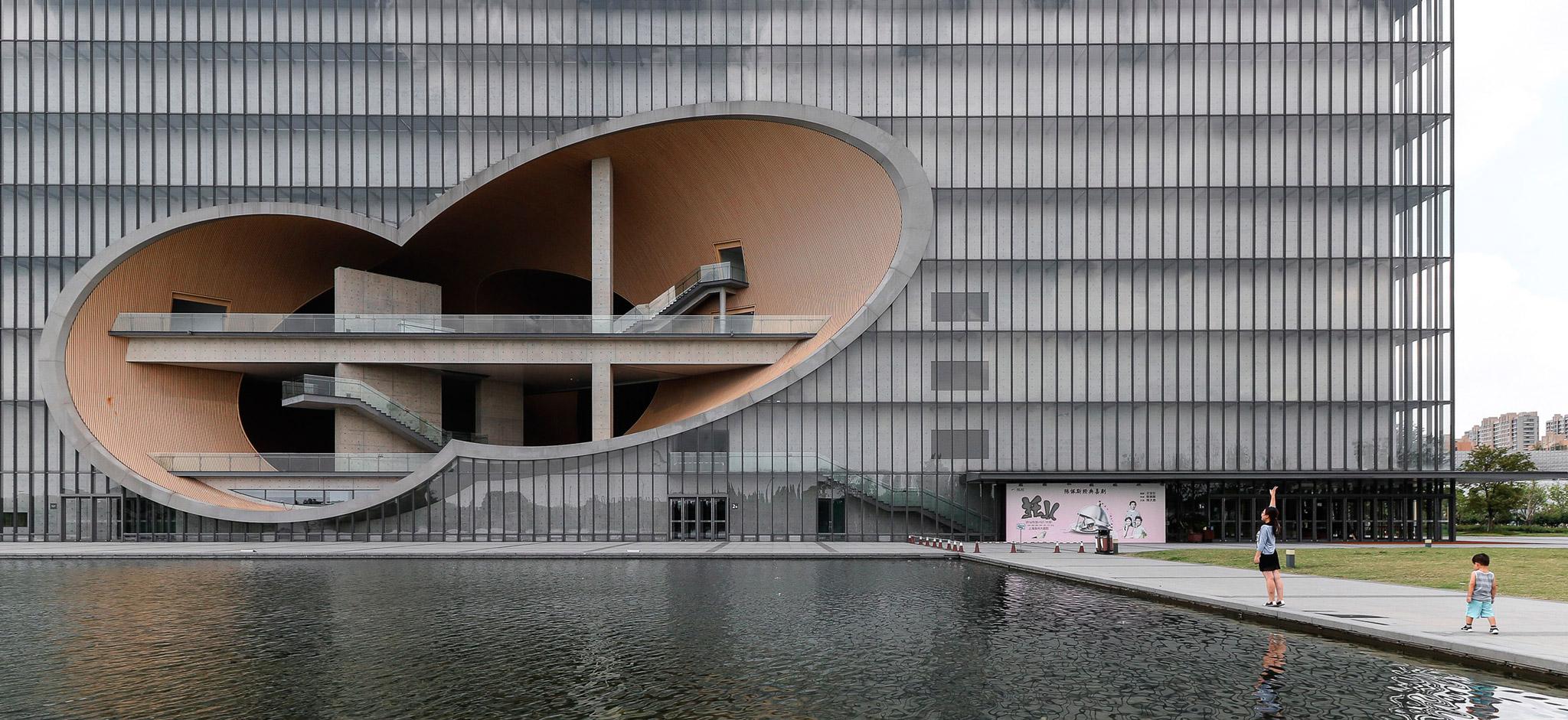 Shanghai Poly Grand Theatre Tadao Ando S Concrete And