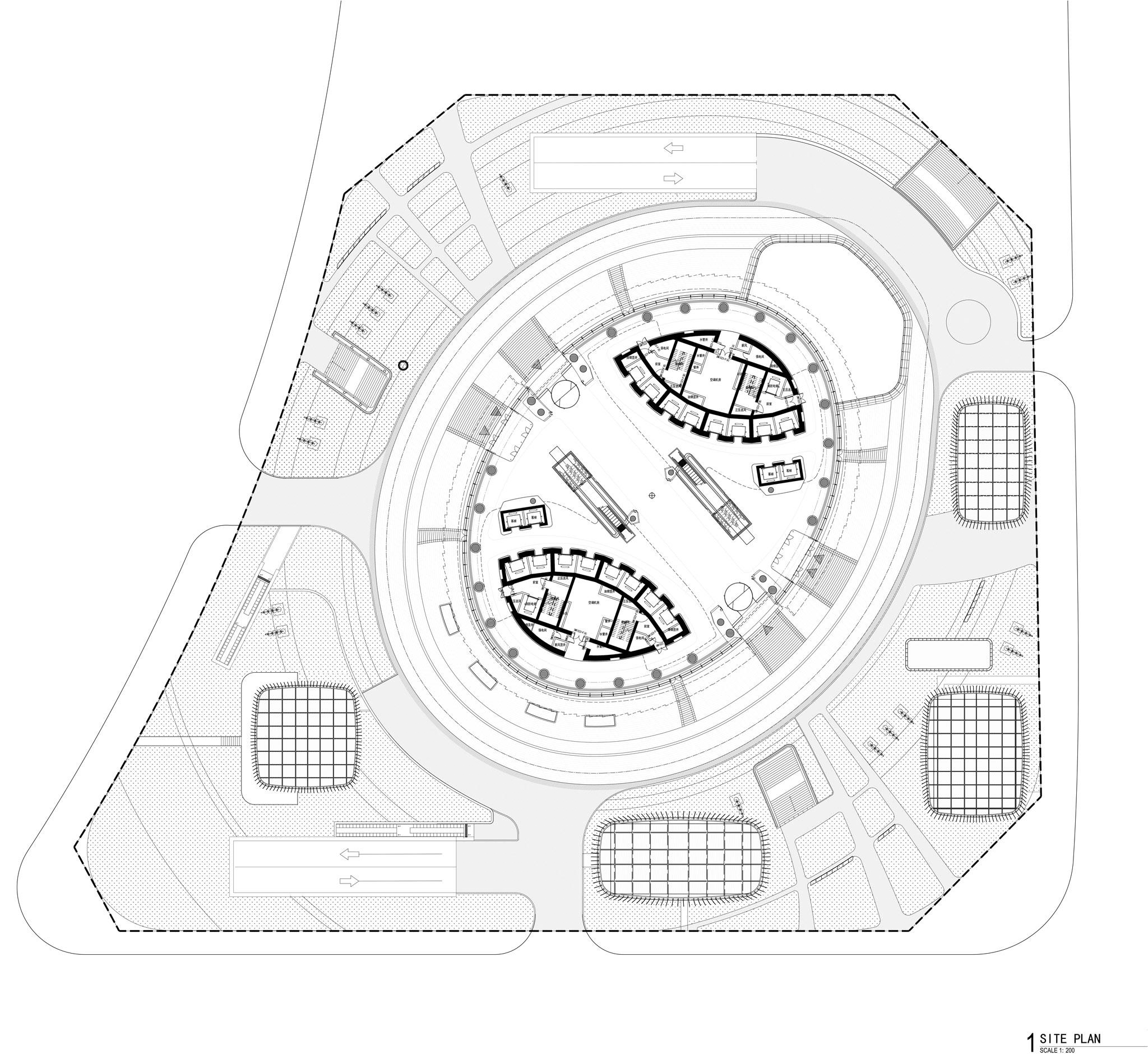 Zaha Hadid Architects Presents Leeza Soho Skyscraper In