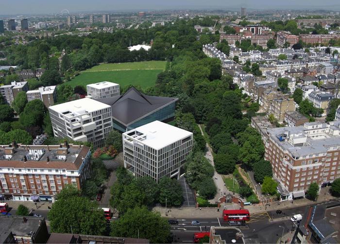 Design museum at commonwealth institute london video for Oma design museum