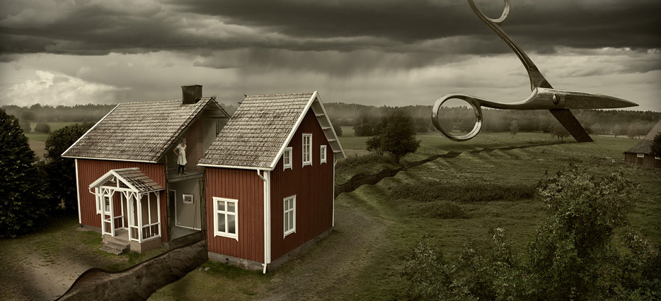 Erik Johansson Impossible Photography Metalocus