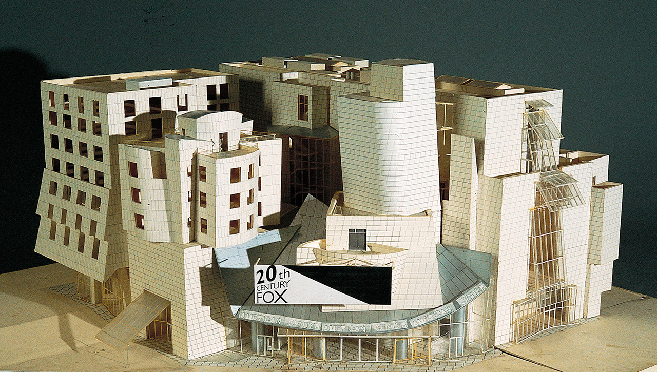 Frank Gehry At Pompidou Metalocus