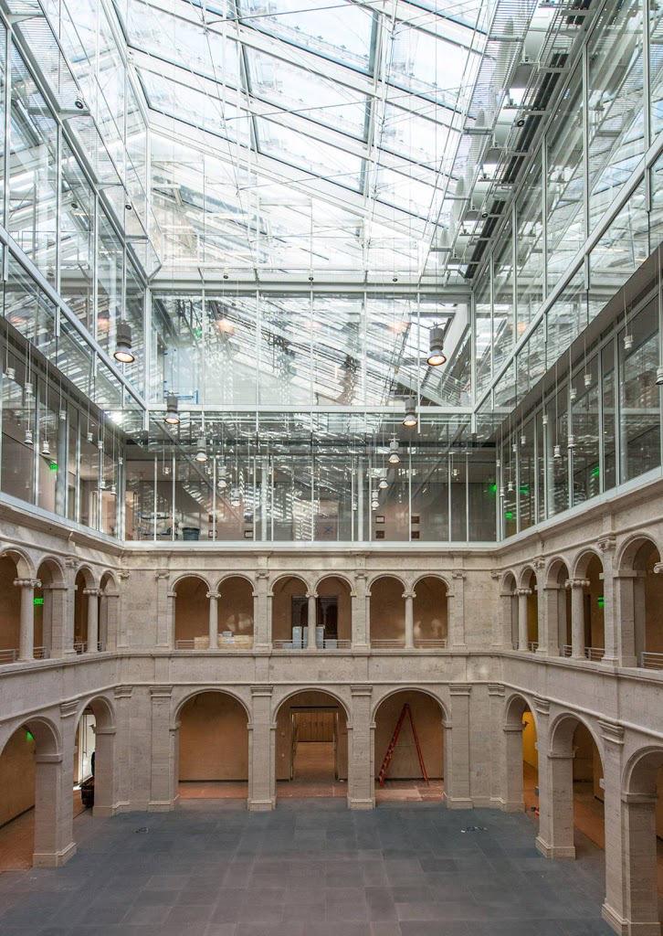 Renovaci 243 N Y Ampliaci 243 N De Los Museos De Arte De Harvard