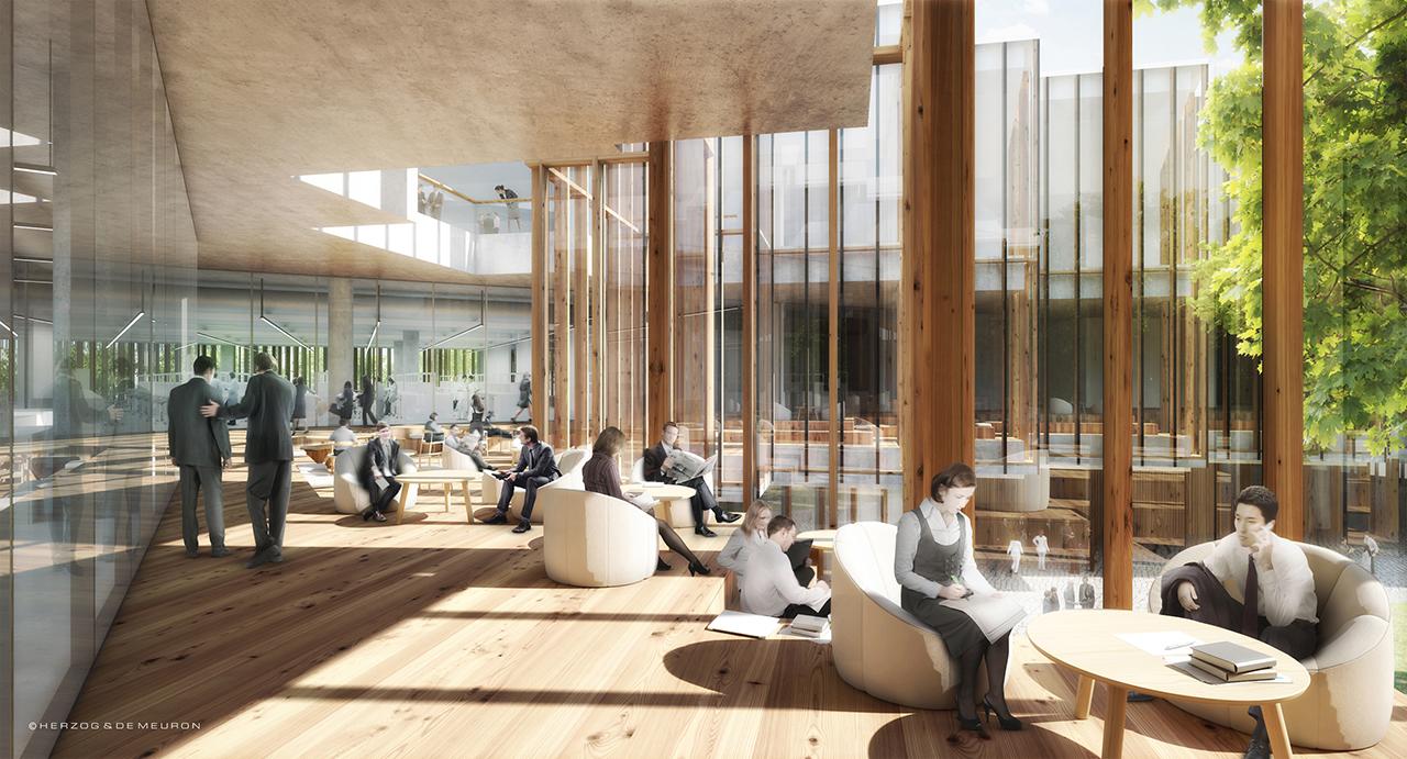 Astrazeneca Reveals The Headquarters On Cambridge By