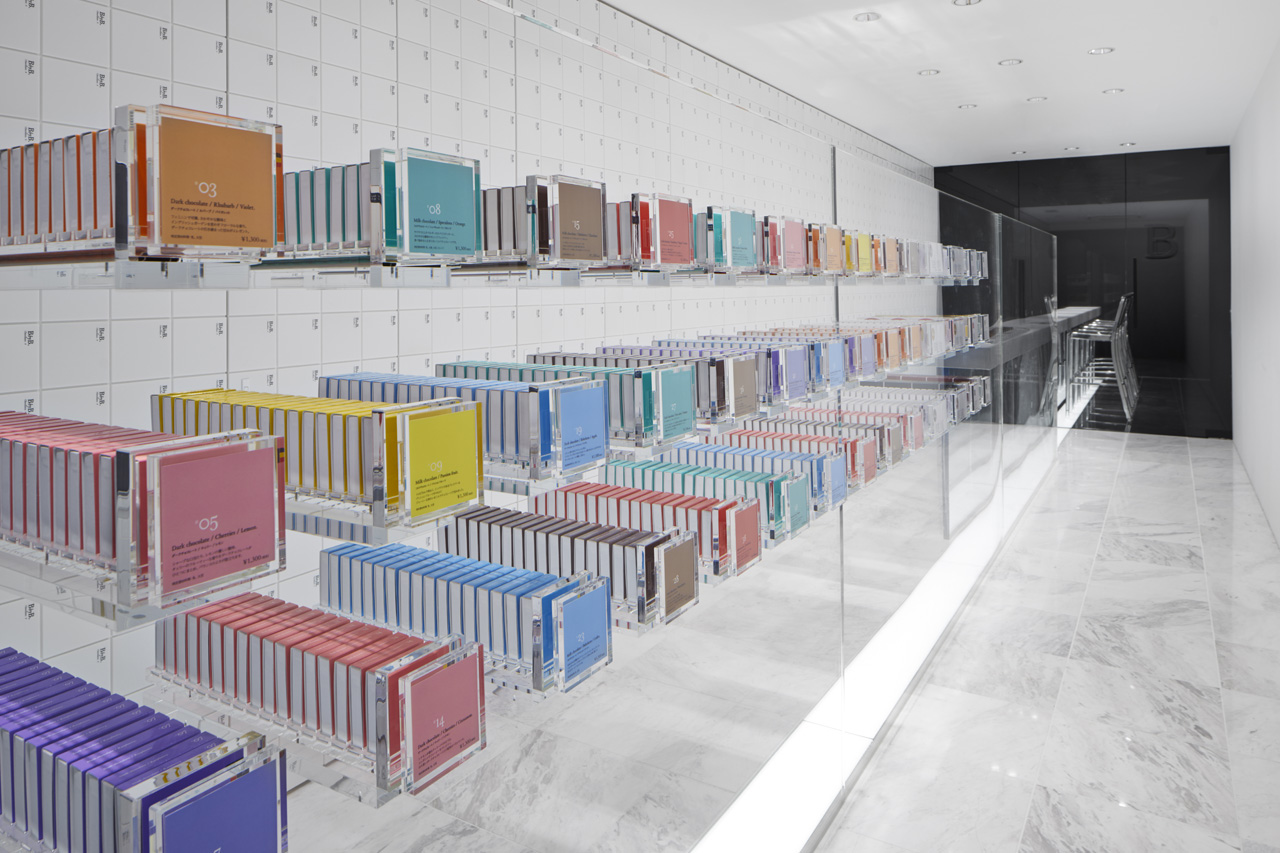 New Bbyb Boutique At Ginza By Nendo Metalocus