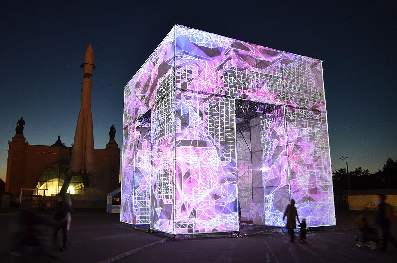 Pabellón P-Cube por Marcos Zotes | METALOCUS