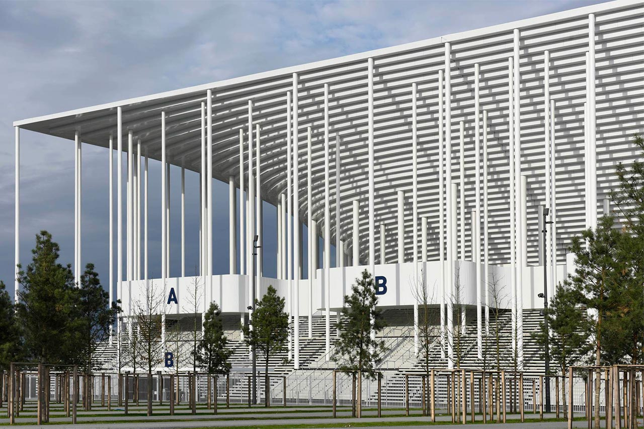 Nuevo estadio de burdeos por herzog de meuron metalocus - Architekten stade ...