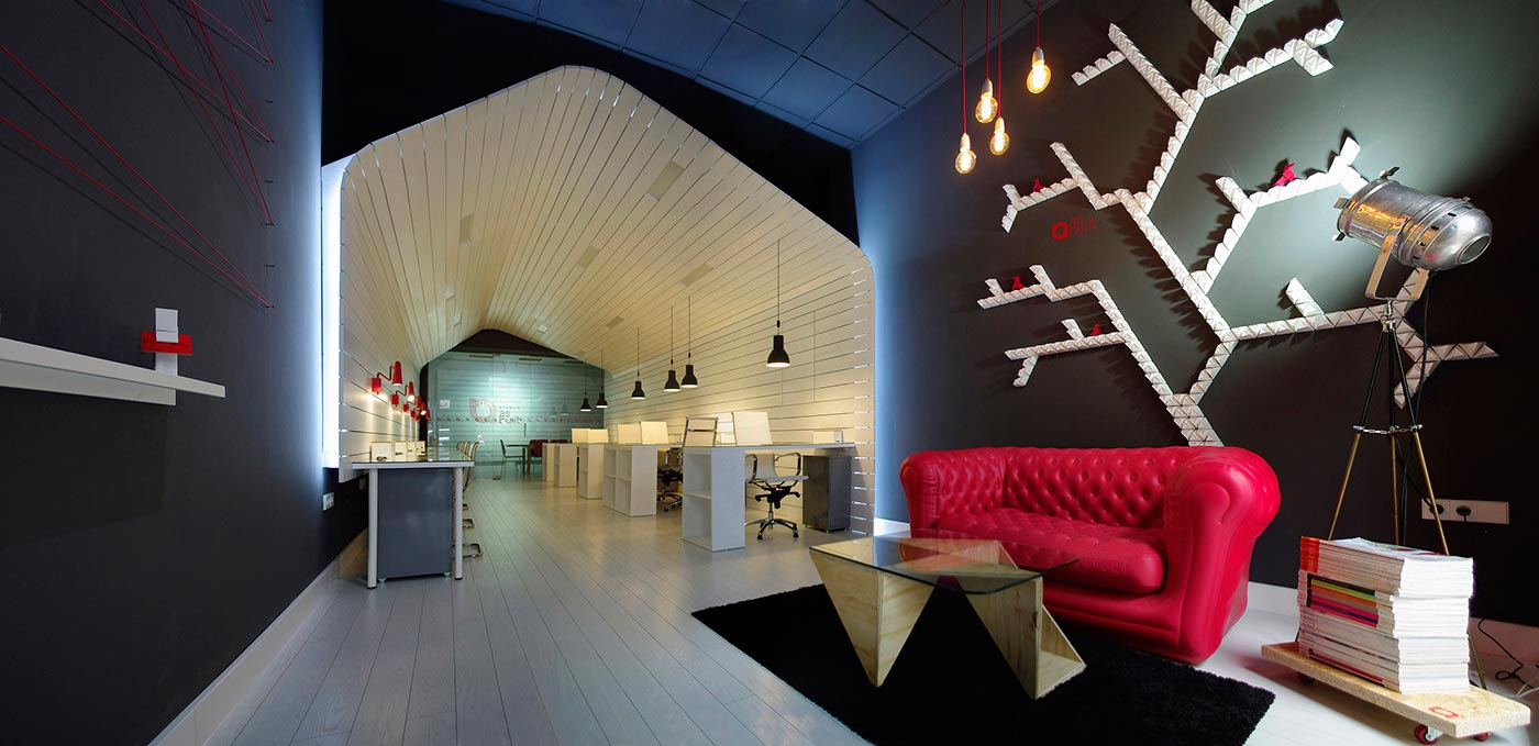 Office For Architecture Studio And Coworking Space Metalocus