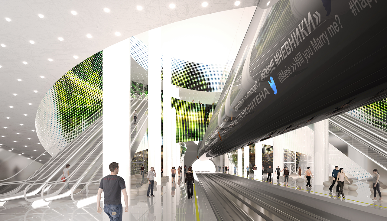 Competition For The Design Of Two Moscow's Metro Stations