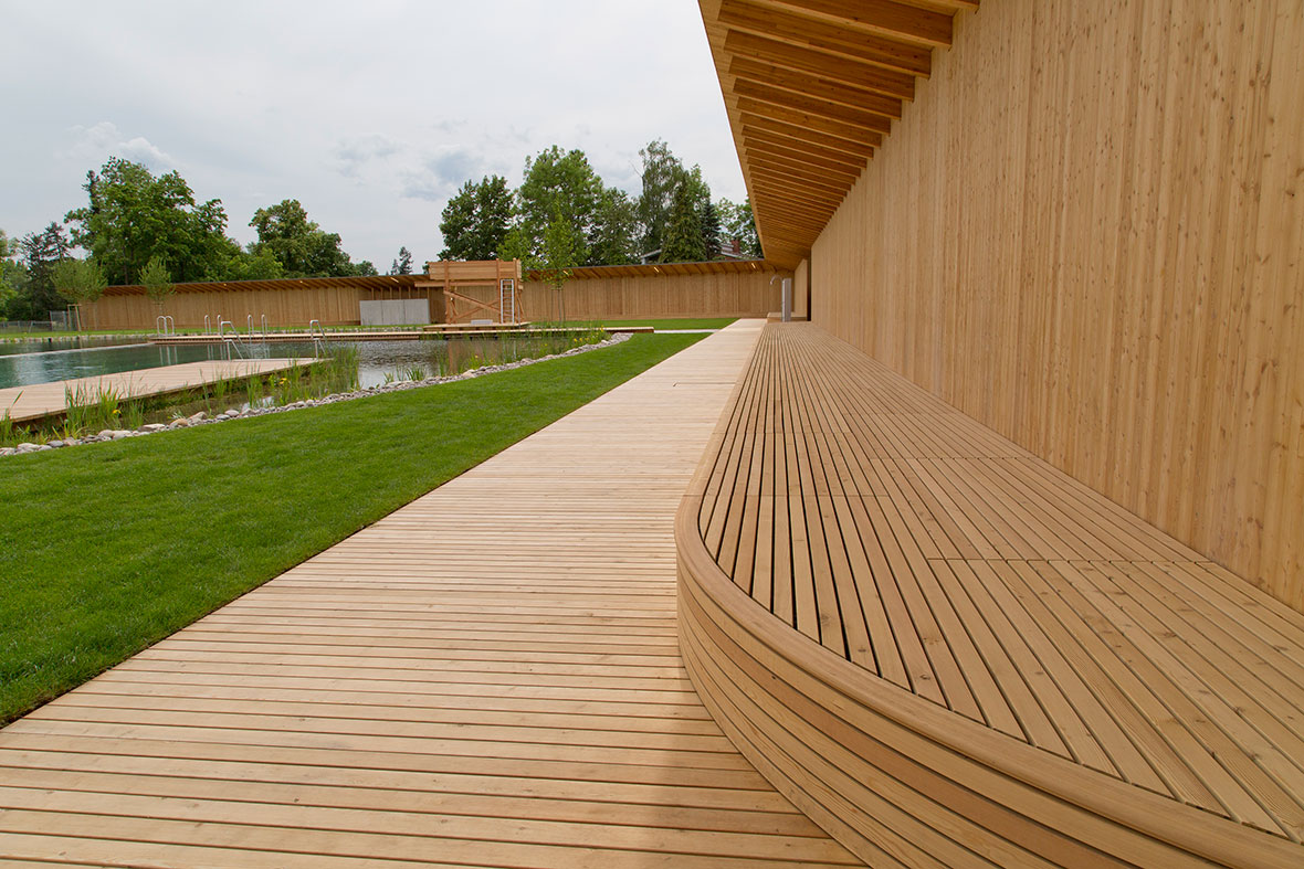 Naturbad Riehen, a natural swimming pool by Herzog & De Meuron ...