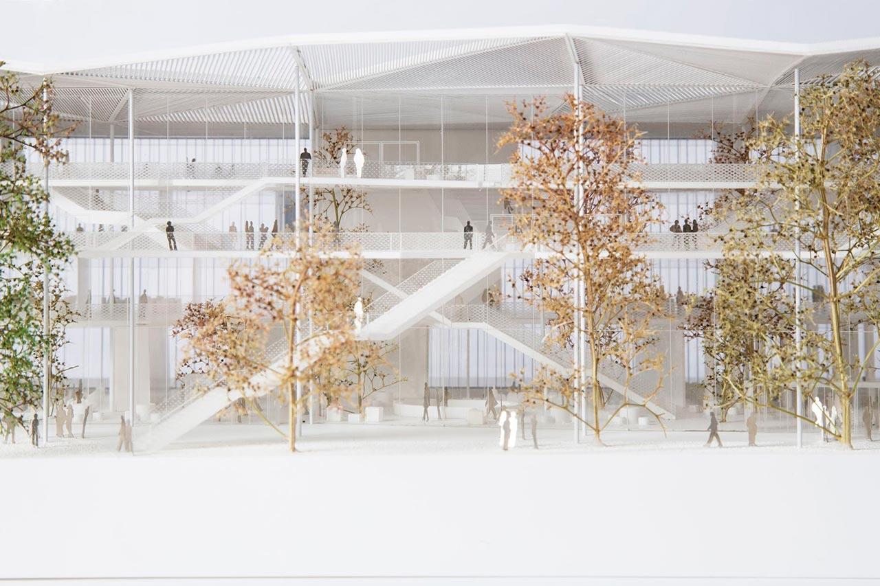 Nuevo centro de aprendizaje en par s por sou fujimoto Arquitectura politecnica