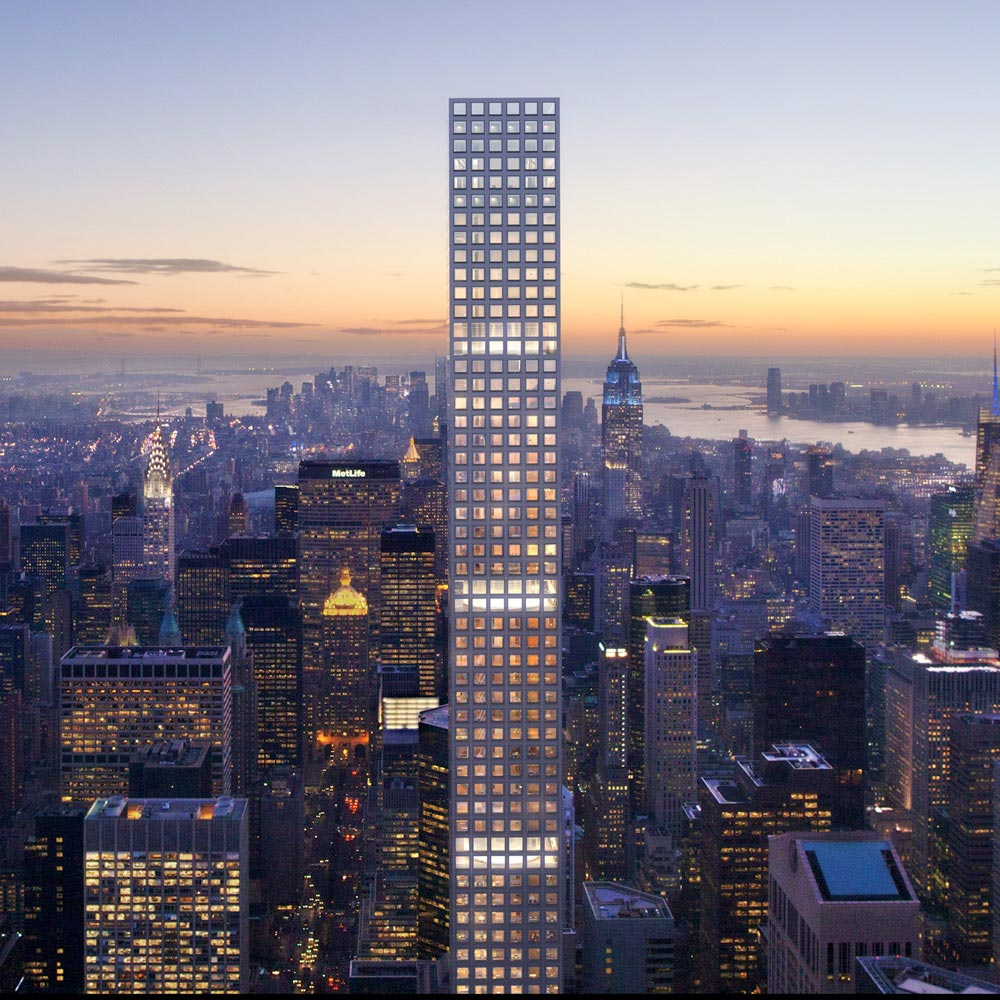 work resumes at 432 park ave tower
