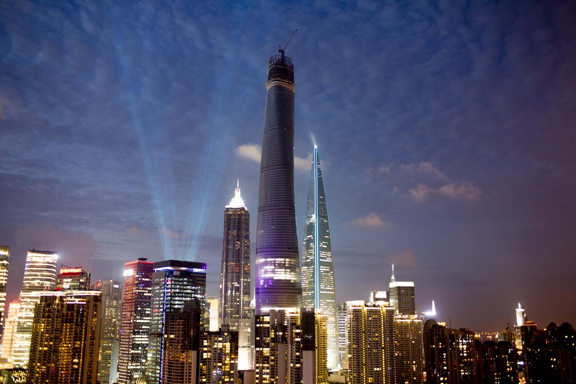 La Torre Shanghai En Su Fase Final De Construcci 243 N Metalocus