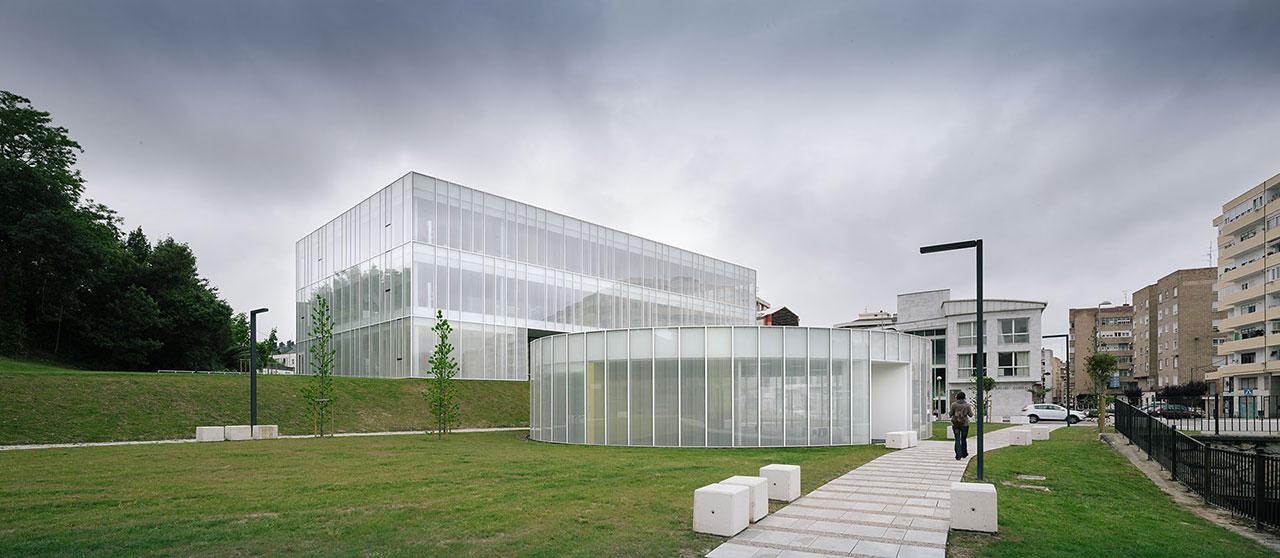 Centro de educaci n de personas adultas y ludoteca por - Arquitectos en soria ...