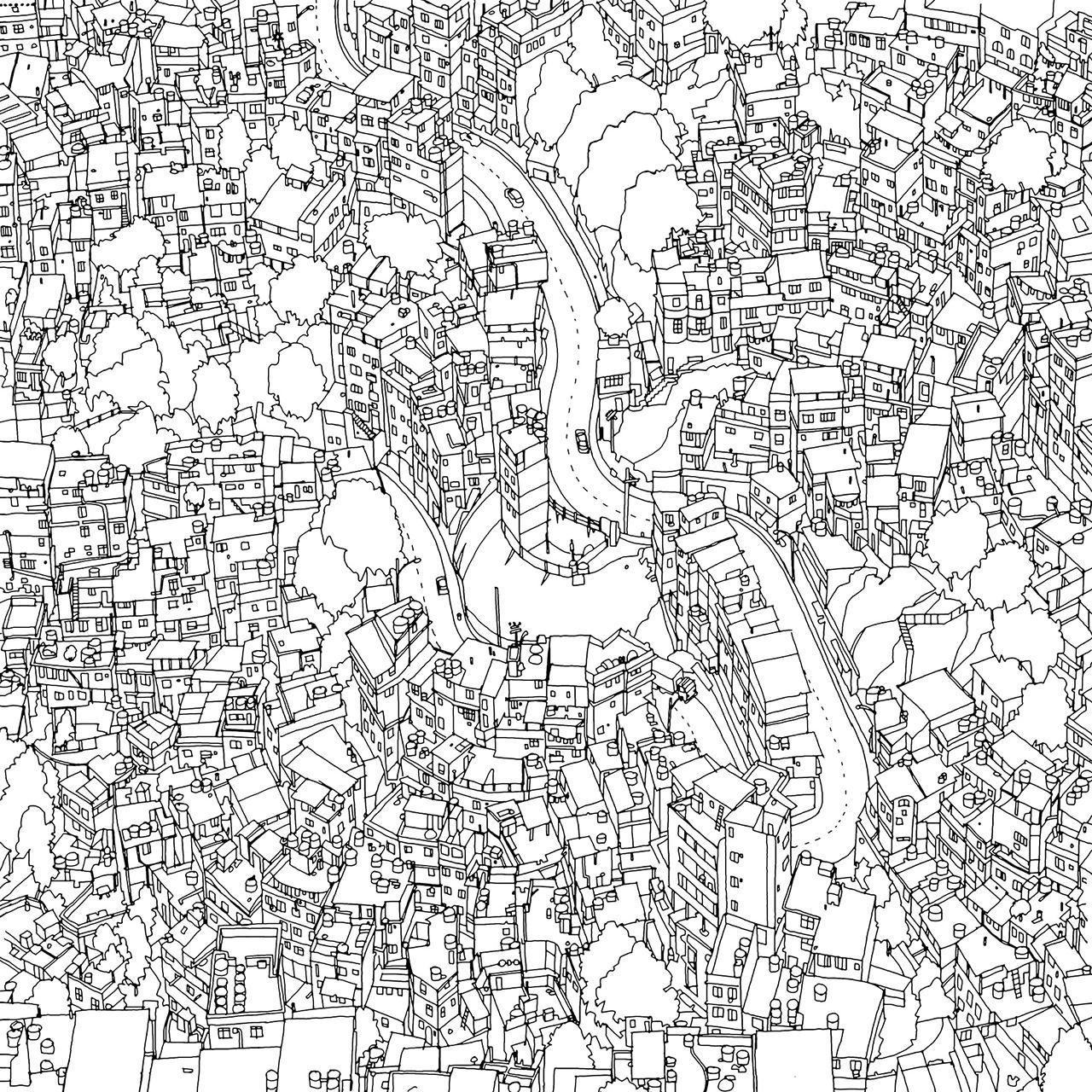 Rocinha Favela Rio De Janeiro Fantastic Cities By Steve McDonald