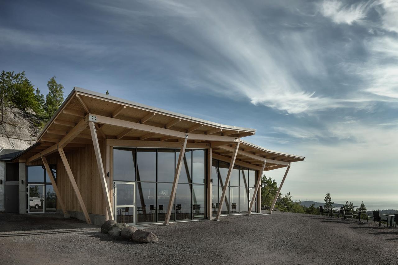 Restaurant exterior architecture - Tweets