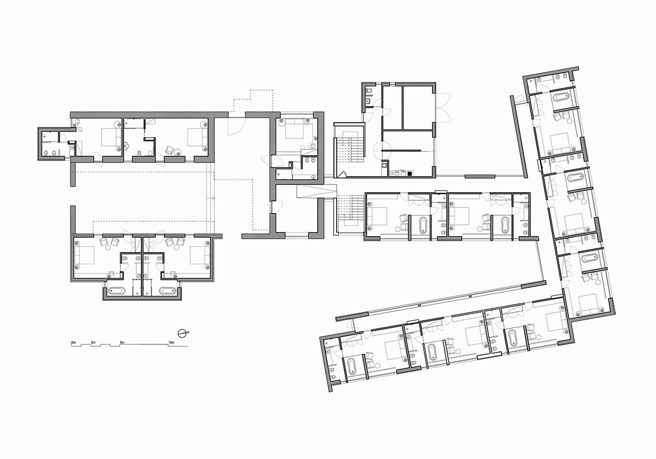 Un hotel entre vi edos por fcc arquitectura y paulo lobo for Arquitectura carrera profesional