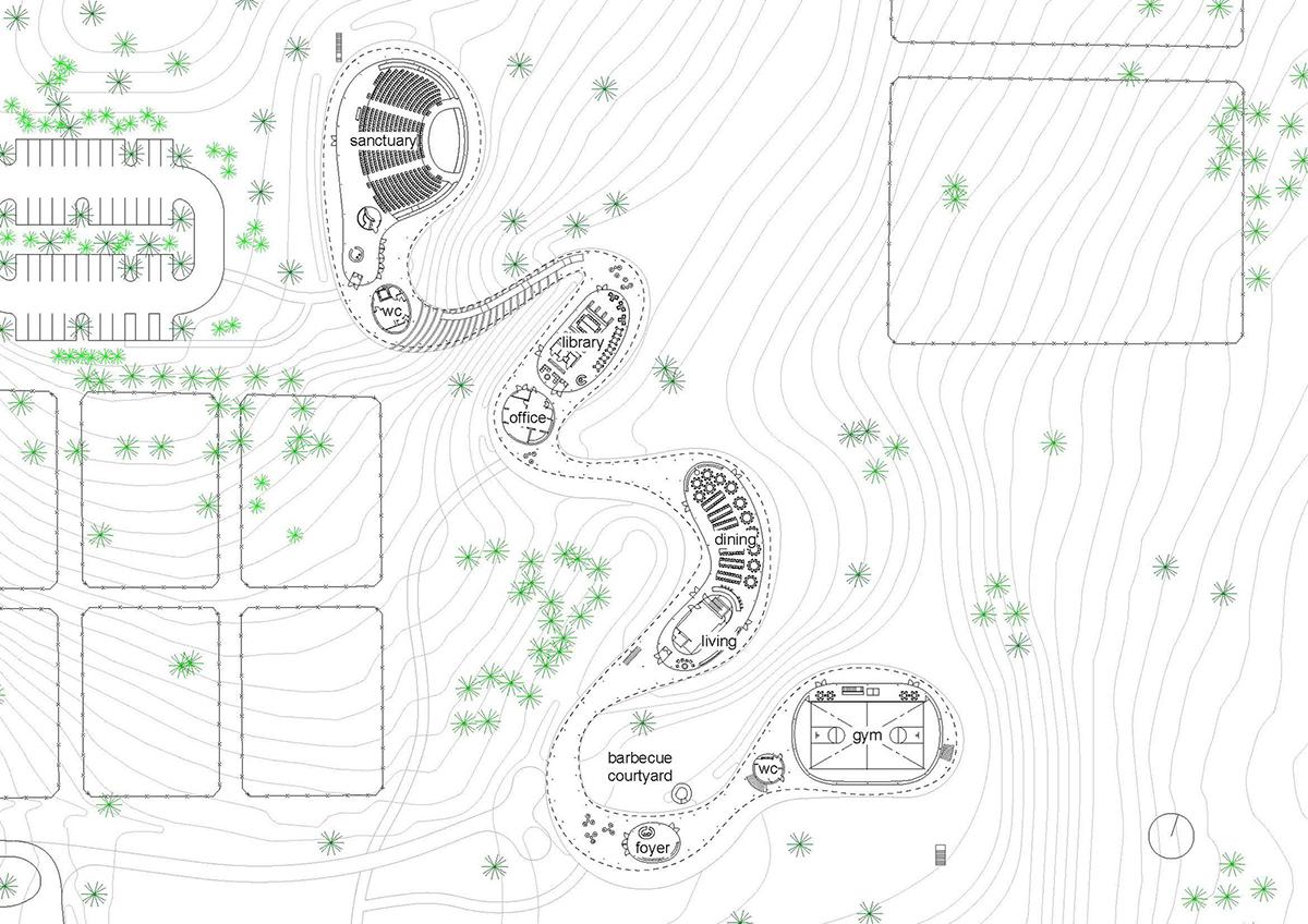 El sinuoso edificio r o de sanaa en grace farms preparado for Estructuras arquitectura pdf
